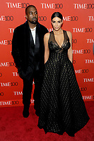 New York, NY- April 21: Kanye West and Kim Kardashian West  attend the TIME 100 Gala at the Frederick P. Rose Hall on April 21, 2015 in New York  City. <br /> CAP/MPI/JP<br /> ©JP/MPI/Capital Pictures