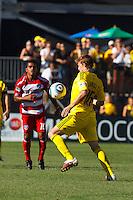 28 AUGUST 2010:  Brian Carroll of the Columbus Crew (16) during MLS soccer game between FC Dallas vs Columbus Crew at Crew Stadium in Columbus, Ohio on August 28, 2010.