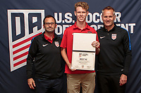 Torrance, CA -  July 13, 2017: The 2016-17 U.S. Soccer Development Academy Championships Banquet at the Torrance Marriott hotel.