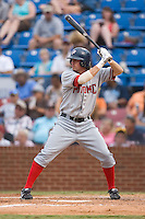 Darryl Lawhorn (16) of the Potomac Nationals at bat at Ernie Shore Field in Winston-Salem, NC, Saturday August 9, 2008. (Photo by Brian Westerholt / Four Seam Images)