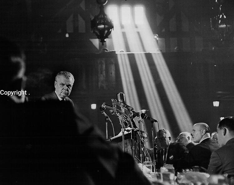 John Diefenbaker dans les annees 60