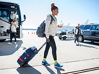 Raleigh, NC - October 12, 2018:  The USWNT traveled to Texas to compete in the 2018 CONCACAF Women's Championship.