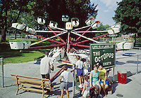 The Octopus Ride, Willow Grove Amusement Park, PA. 1962