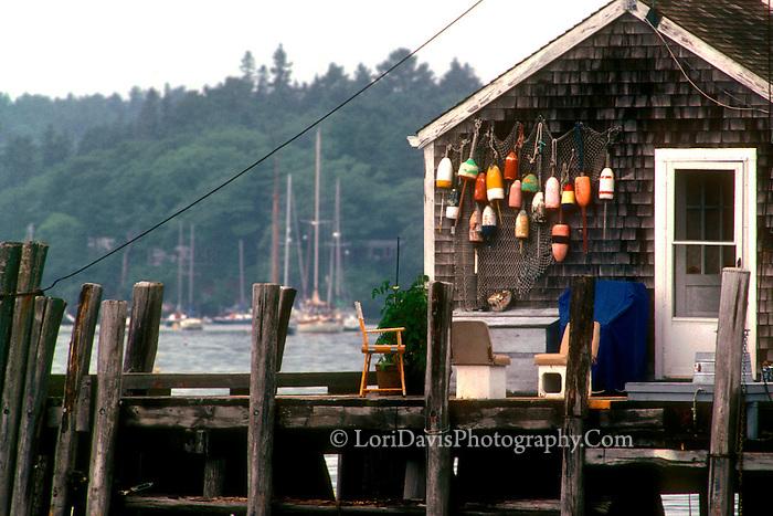 Fishing Shack with Buoys  #S14