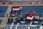 Syria vs Yemen during the 2014 AFC U22 Mens Championship Gropu B match on January 15, 2014 at the Royal Oman Police Stadium in Muscat, Oman. Photo by World Sport Group
