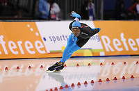 SPEEDSKATING: Salt Lake City, Shani Davis (USA), World Record 1500m, ©foto Martin de Jong