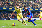 Neymar da Silva Santos Junior (r) of FC Barcelona competes for the ball with Mario Gaspar Pérez Martínez (l) of Villarreal CF during their La Liga match between Villarreal and FC Barcelona at the Estadio de la Cerámica on 08 January 2017 in Villarreal, Spain. Photo by Maria Jose Segovia Carmona / Power Sport Images