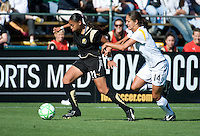 Adriane, Stephanie Cox. The Los Angeles Sol defeated FC Gold Pride, 2-0, at Buck Shaw Stadium in Santa Clara, CA on May 24, 2009.