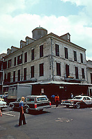 New Orleans:  Girod House, 500 Chartres St., 1797.  Also known as Mayor Girod or Nicolas Girod House.  National Historic Landmark 1970.  Grocery store, now restaurant and bar.  (One of city's finest residences in 19th C.