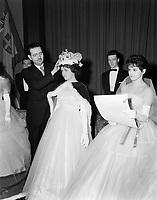 Institut de Bienseance DENYS, Quebec,<br /> 29 janvier 1959<br /> <br /> PHOTO : Agence Quebec Prese