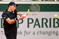27th September 2020, Roland Garros, Paris, France; French Open tennis, Roland Garros 2020; Antoine Hoang (fra)