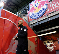 Harrison, NJ - Tuesday April 10, 2018: Preston Burpo prior to leg two of a  CONCACAF Champions League semi-final match between the New York Red Bulls and C. D. Guadalajara at Red Bull Arena. C. D. Guadalajara defeated the New York Red Bulls 0-0 (1-0 on aggregate).