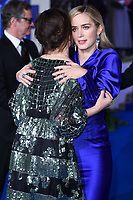"""Emily Mortimer and Emily Blunt<br /> arriving for the """"Mary Poppins Returns"""" premiere at the Royal Albert Hall, London<br /> <br /> ©Ash Knotek  D3467  12/12/2018"""