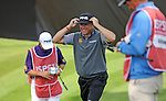ISPS Handa Wales Open Golf final day at the Celtic Manor Resort in Newport, UK. :  Lee Westwood of England walks off the 18th green after finishing his round.