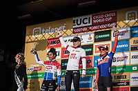 podium World Cup Classification:<br /> 1st place -  Annemarie Worst (NED/777)<br /> 2nd place - Ceylin Del Carmen Alvarado (NED/Alpecin Fenix)<br /> 3th place -  Katerina Nash (CZE/Cliff)<br /> <br /> Elite Womens Race <br /> UCI Cyclocross Worldcup – Hoogerheide (Netherlands)<br /> ©kramon