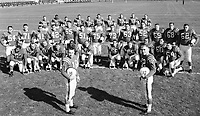 1960 Ottawa Rough Riders. Copyright photograph Ted Grant/