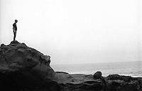 Bergen Wilde at the seashore, 1987. &#xA;<br />