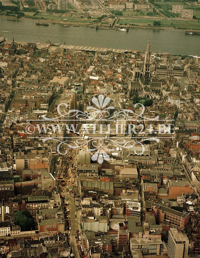 Juni 1972. De Meir in Antwerpen.