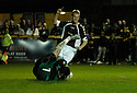 20/09/2006        Copyright Pic: James Stewart.File Name : sct_jspa04_alloa_v_hearts.juho makela celebrates after he scores hearts first......Payments to :.James Stewart Photo Agency 19 Carronlea Drive, Falkirk. FK2 8DN      Vat Reg No. 607 6932 25.Office     : +44 (0)1324 570906     .Mobile   : +44 (0)7721 416997.Fax         : +44 (0)1324 570906.E-mail  :  jim@jspa.co.uk.If you require further information then contact Jim Stewart on any of the numbers above.........