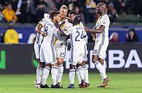 Carson, CA - Saturday February 10, 2018: The Los Angeles Galaxy defeated New York City FC 3-0 during a Major League Soccer (MLS) preseason exhibition match at StubHub Center.