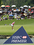 SINGAPORE - MARCH 08:  Paula Creamer of the USA on the par tree 8th hole during the final round of HSBC Women's Champions at the Tanah Merah Country Club on March 8, 2009 in Singapore. Photo by Victor Fraile / The Power of Sport Images