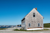 Boathouse, Chatham Harbor, Cape Cod, Massachusetts, USA