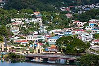 Castries, St. Lucia.