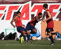 Marlon Duran, Jodseph Gyau and Tyler Polak training before the 2009 CONCACAF Under-17 Championship From April 21-May 2 in Tijuana, Mexico