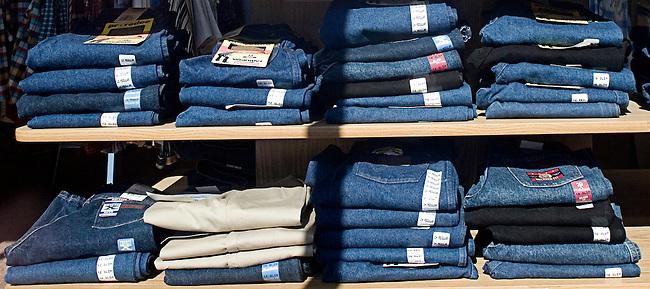 blue jeans, Cowtown Boots, Las Vegas, Nevada