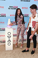Emily Miller and Cam Holmes<br /> at the 'Too Hot to Handle' season 2 screening, London.<br /> <br /> ©Ash Knotek  D3566 23/06/2021