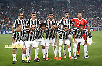 Football Soccer: UEFA Champions League Juventus vs Sporting Clube de Portugal, Allianz Stadium. Turin, Italy, October 18, 2017. <br /> Juventus' players pose for the pre match photograph prior to the start of the Uefa Champions League football soccer match between Juventus and Sporting Clube de Portugal at Allianz Stadium in Turin, October 18, 2017.<br /> UPDATE IMAGES PRESS/Isabella Bonotto