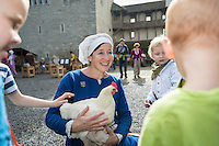 20.9.2014 LENZBURG / AG; MITTELALTERMARKT AM 20. SEPTEMBER 2014 AUF SCHLOSS LENZBURG.<br /> <br /> COPYRIGHT © ZVONIMIR PISONIC
