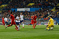 Raheem Sterling of England scores his side's fifth goal to make the score 1-5  <br /> Podgorica 25-3-2019 <br /> Football Euro2020 Qualification Montenegro - England <br /> Foto Daniel Chesterton / PHC / Insidefoto <br /> ITALY ONLY