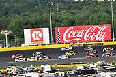 #19: Daniel Suarez, Joe Gibbs Racing, Toyota Camry ARRIS and #20: Erik Jones, Joe Gibbs Racing, Toyota Camry Sport Clips
