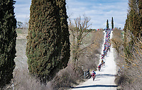 gravel sector<br /> <br /> 15th Strade Bianche 2021<br /> ME (1.UWT)<br /> 1 day race from Siena to Siena (ITA/184km)<br /> <br /> ©kramon