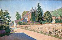 Chateau de Comblat, c.1887<br /> Paul Signac (1863–1935) <br /> oil on canvas