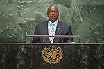 Botswana<br /> H.E. Mr. Mokgweetsi Eric Keabetswe Masisi<br /> Vice-President<br /> <br /> General Assembly Seventy-first session, 17th plenary meeting<br /> General Debate