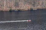 COLEBROOK, CT. 31 December 2018-123118 - Fire and emergency crews search the Colebrook River Lake of  reports of a missing person in Colebrook on Monday. CT State Police and Fire Departments from Colebrook, Barkhamsted, Winsted,and Tolland, MA as well were helping assist in the search of the missing person. Bill Shettle Republican-American
