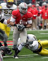 November 22, 2008. Ohio State running back Dan Herron (1). The Ohio State Buckeyes defeated the Michigan Wolverines 42-7 on November 22, 2008 at Ohio Stadium, Columbus, Ohio.