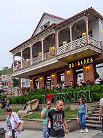 Resturant am am Wachtang-Gorgasali Platz, Tiflis – Tbilissi, Georgien, Europa<br /> Restaurant at Wachtang Gorgasali-square, Tbilisi, Georgia, Europe