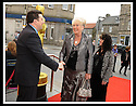 07/04/2009  Copyright Pic: James Stewart.File Name : 11_hippodrome_opening.COUNCILLOR ADRIAN MAHONEY GREETS THE INVITED GUESTS AS THEY ARRIVE AT THE FIRST NIGHT OFFICIAL RE-OPENING OF THE HIPPODROME IN BO'NESS.....James Stewart Photography 19 Carronlea Drive, Falkirk. FK2 8DN      Vat Reg No. 607 6932 25.Telephone      : +44 (0)1324 570291 .Mobile              : +44 (0)7721 416997.E-mail  :  jim@jspa.co.uk.If you require further information then contact Jim Stewart on any of the numbers above.........
