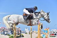 MIAMI BEACH, FL - APRIL 07: Darragh Kenny at the Longines Global Champions Tour stop day 3 in Miami Beach on April 7, 2018 in Miami Beach, Florida<br /> <br /> People:  Darragh Kenny