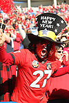 December 30, 2016: Georgia Bulldog fan at the Autozone Liberty Bowl at Liberty Bowl Memorial Stadium in Memphis, Tennessee. ©Justin Manning/Eclipse Sportswire/Cal Sport Media