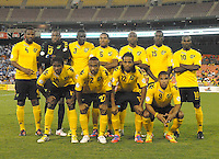 Jamaican starting elven.  Jamaica defeated El Salvador 2-0 in a international friendly match at RFK Stadium, Wednesday August 15, 2012.