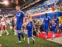 Harrison, NJ - July 22, 2015:  The New York Red Bulls defeated Chelsea 4-2 during the International Champions Cup at Red Bull Arena.