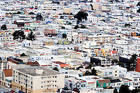 North America, United States of America, California, San Francisco, Housing in the Sunset District, ©Stephen Blake Farrington<br />