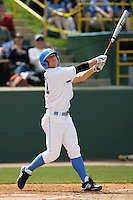 April 3 2010: Chris Gioinazzo of the UCLA Bruins during game against the Stanford Cardinal at UCLA in Los Angeles,CA.  Photo by Larry Goren/Four Seam Images