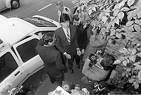 Pix: Copyright Anglia Press Agency/Archived via SWpix.com. The Bamber Killings. August 1985. Murders of Neville and June Bamber, daughter Sheila Caffell and her twin boys. Jeremy Bamber convicted of killings serving life...copyright photograph>>Anglia Press Agency>>07811 267 706>>..Jeremy Bamber arrives at court. no date..ref 0002 neg 25...