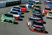 2017 NASCAR Xfinity Series - Boyd Gaming 300<br /> Las Vegas Motor Speedway - Las Vegas, NV USA<br /> Saturday 11 March 2017<br /> Kyle Busch, NOS Energy Drink Toyota Camry and Daniel Suarez, Interstate Batteries Toyota Camry<br /> World Copyright: Nigel Kinrade/LAT Images<br /> ref: Digital Image lam_170311LV10587