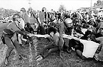 Opposition to the U.S. Involvement in the Vietnam War is significant because it was the first time a war was shown and accessed through to the public on television, Protests gained momentum from the Civil RIghts Movements that had organized to oppose segregation laws,